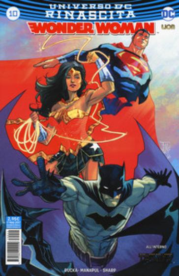 Rinascita. Wonder Woman. 10. - Liam Sharp | Jonathanterrington.com