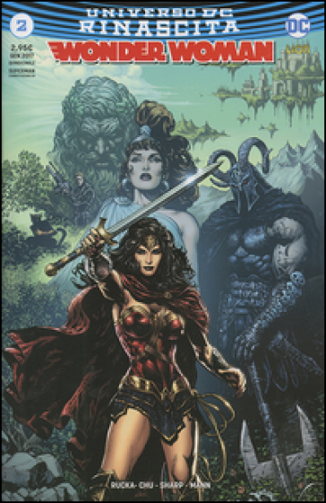 Rinascita. Wonder Woman. 2. - S. Formiconi   Thecosgala.com