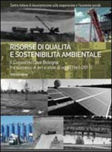 Risorse di qualità e sostenibilità ambientale. Il consorzio Cave Bologna fra successi di ieri e sfide di oggi (1961-2011) - Tito Menzani |