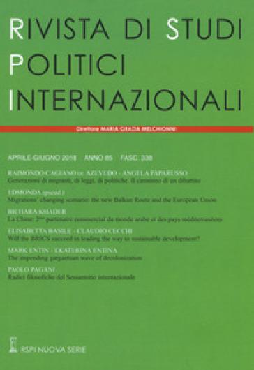 Rivista di studi politici internazionali (2018). 2.