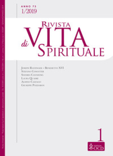 Rivista di vita spirituale (2019). 1.