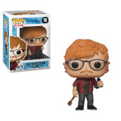 Rock - Pop Funko Vinyl Figure 76 Ed Sheeran 9Cm - New York Toy Fair