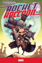 Rocket Raccoon #3: A Chasing Tale Part Three