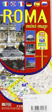Roma. Mini guida. Mini map. Ediz. italiana e inglese
