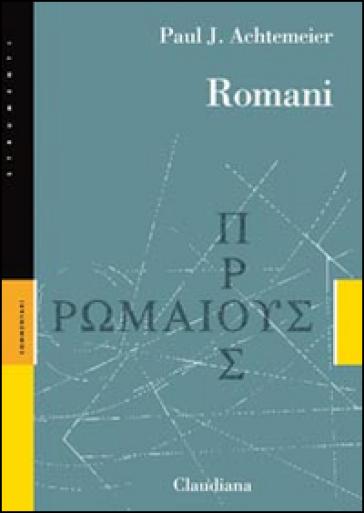 Romani - Paul J. Achtemeier  