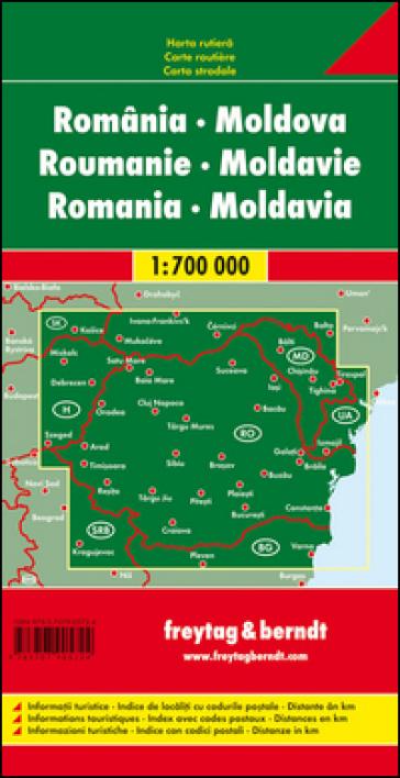 Romania-Moldova 1:700.000