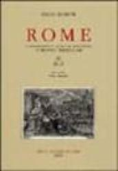 Rome. A bibliography from the invention of printing through 1899. 3.H-Z