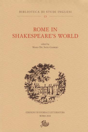 Rome in Shakespeare's world - M. Del Sapio Garbero | Jonathanterrington.com