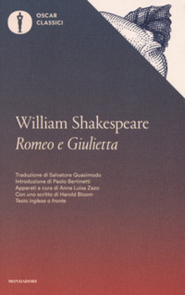 Romeo e Giulietta. Testo inglese a fronte - William Shakespeare | Jonathanterrington.com