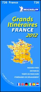 Route planning France 2012 1.000.000
