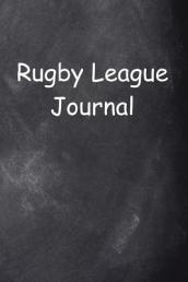 Rugby League Journal Chalkboard Design