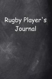 Rugby Player s Journal Chalkboard Design