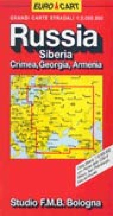 Russia. Siberia. Crimea. Georgia 1:2.000.000 -  pdf epub
