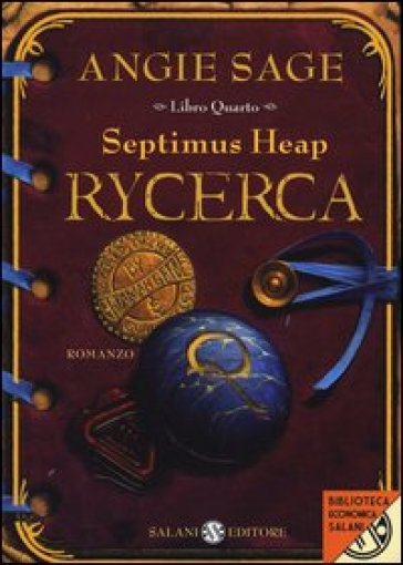 Rycerca. Septimus Heap. 4. - Angie Sage | Rochesterscifianimecon.com