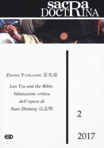 Sacra doctrina (2017). 2: Lao Tzu and the Bible. Valutazione critica nell'opera di Yuan Zhiming