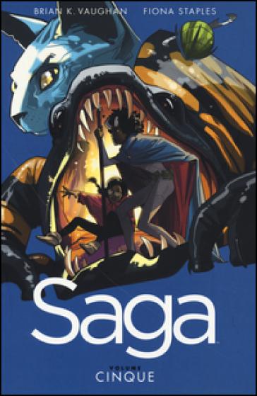 Saga. 5. - Brian K. Vaughan   Thecosgala.com