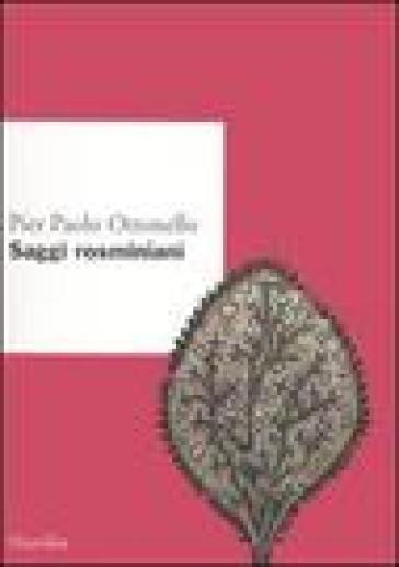 Saggi rosminiani - Pier Paolo Ottonello  