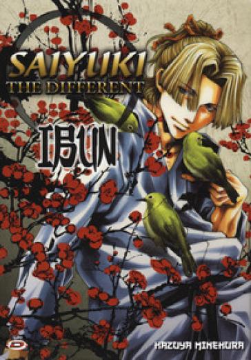Saiyuki. The different. Ibun - Kazuya Minekura |