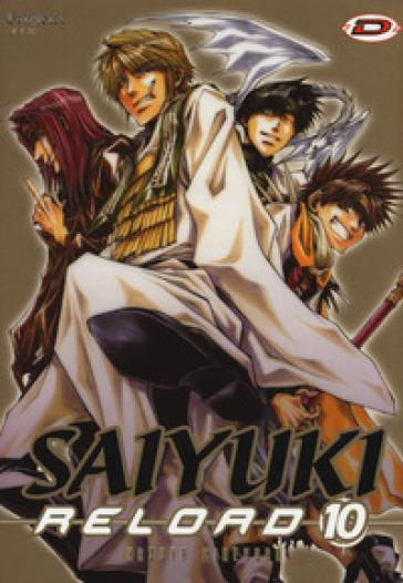 Saiyuki reload. 10. - Kazuya Minekura |