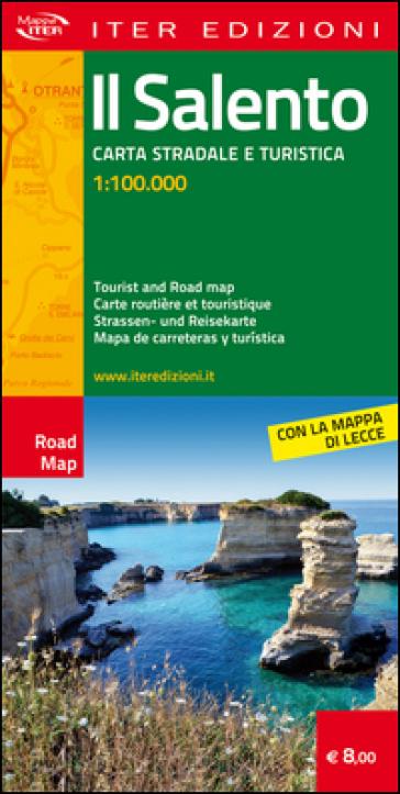 Il Salento. Carta stradale e turistica 1:100.000. Ediz. multilingue