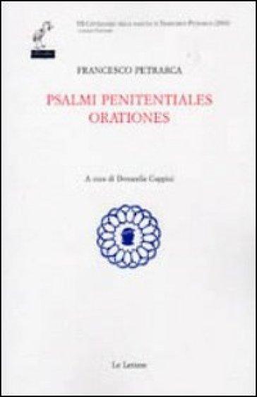 Salmi penitentiales orationes - Francesco Petrarca | Kritjur.org