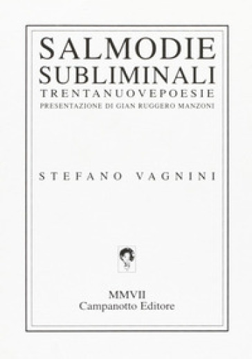 Salmodiesubliminali - Stefano Vagnini | Kritjur.org