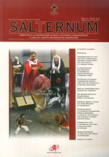 Salternum. Semestrale di informazione storica, culturale e archeologica (2019). 42-43: Gennaio-dicembre