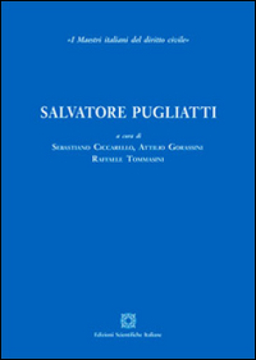 Salvatore Pugliatti - S. Ciccarello | Ericsfund.org