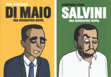 Salvini-Di Maio. Una biographic novel - Giuseppe Angelo Fiori | Thecosgala.com