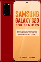 Samsung Galaxy S20 For Seniors