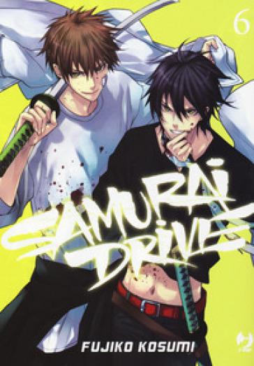 Samurai drive. 6. - Fujiko Kosumi | Rochesterscifianimecon.com