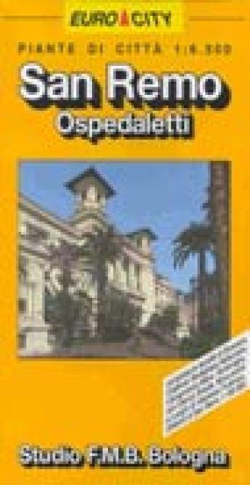 San Remo. Bordighera. Ventimiglia 1:6.500 -  pdf epub