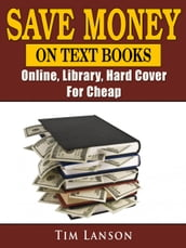 Save Money on Text Books