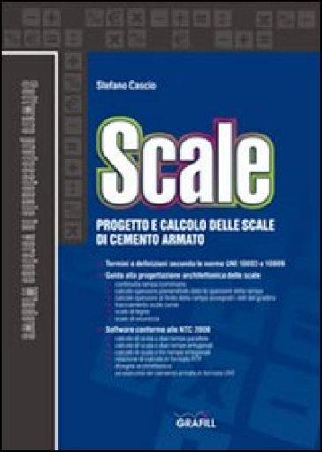 Scale progetto e calcolo delle scale in cemento armato con cd rom stefano cascio libro - Scale in cemento armato ...
