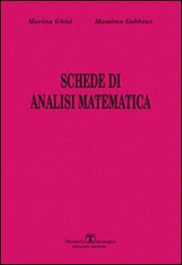 Schede di analisi matematica - Massimo Gobbino   Ericsfund.org