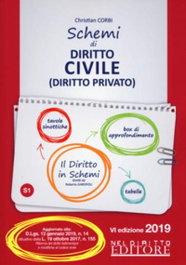 Schemi di diritto civile (diritto privato) - Christian Corbi |