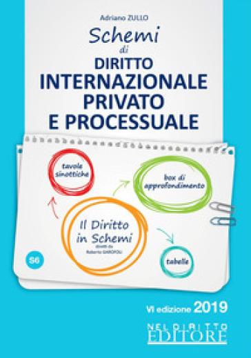 Schemi di diritto internazionale privato e processuale - A. Zullo   Thecosgala.com
