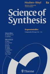 Science of Synthesis: Houben-Weyl Methods of Molecular Transformations Vol. 8a