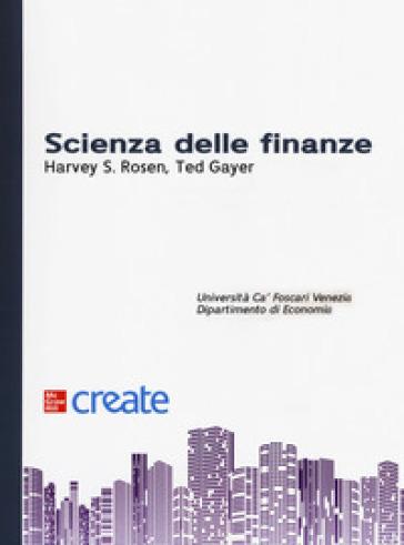 Scienza delle finanze - Harvey S. Rosen | Thecosgala.com
