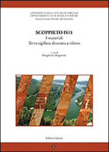 Scoppieto. 4.I materiali. Terra sigillata decorata a rilievo - M. Bergamini   Ericsfund.org