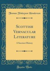 Scottish Vernacular Literature