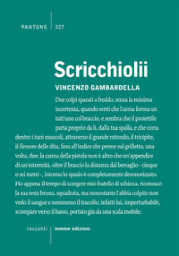 Scricchiolii - Vincenzo Gambardella |