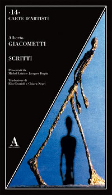 Scritti - Alberto Giacometti pdf epub