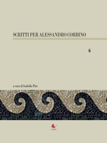 Scritti per Alessandro Corbino. 6. - I. Piro |