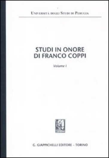 Scritti in onore di Franco Coppi