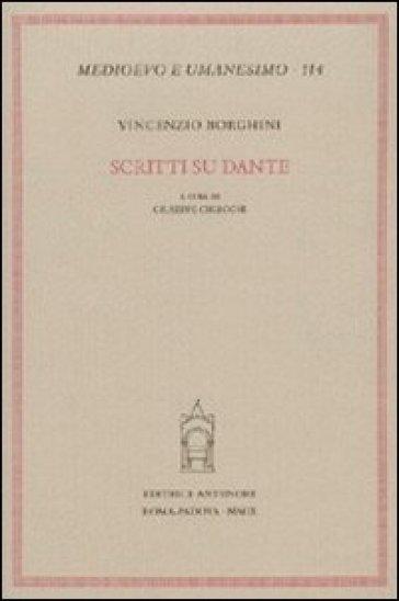 Scritti su Dante - V. Borghini   Rochesterscifianimecon.com