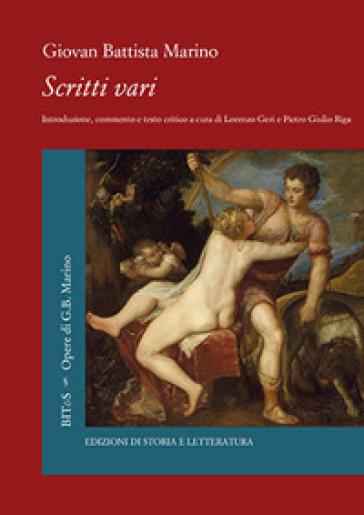 Scritti vari - Giovan Battista Marino | Rochesterscifianimecon.com