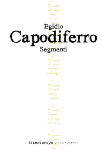 Segmenti - Egidio Capodiferro | Kritjur.org