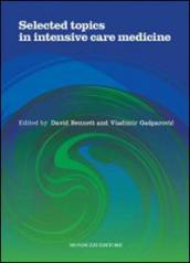 Selected topics in intensive care medicine