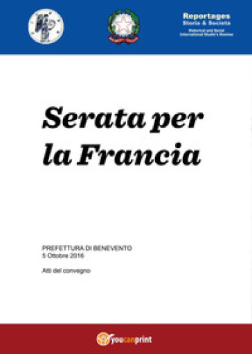 Serata per la Francia - Lucia Gangale | Kritjur.org